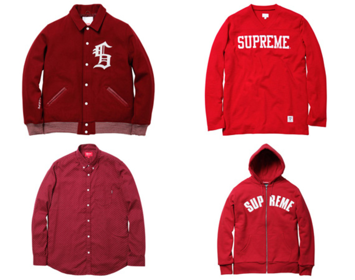 Supreme Fall Winter 2010 Collection Apparel Outerwear Jaket Sweater Hoodie Zipper Fw10 Sm