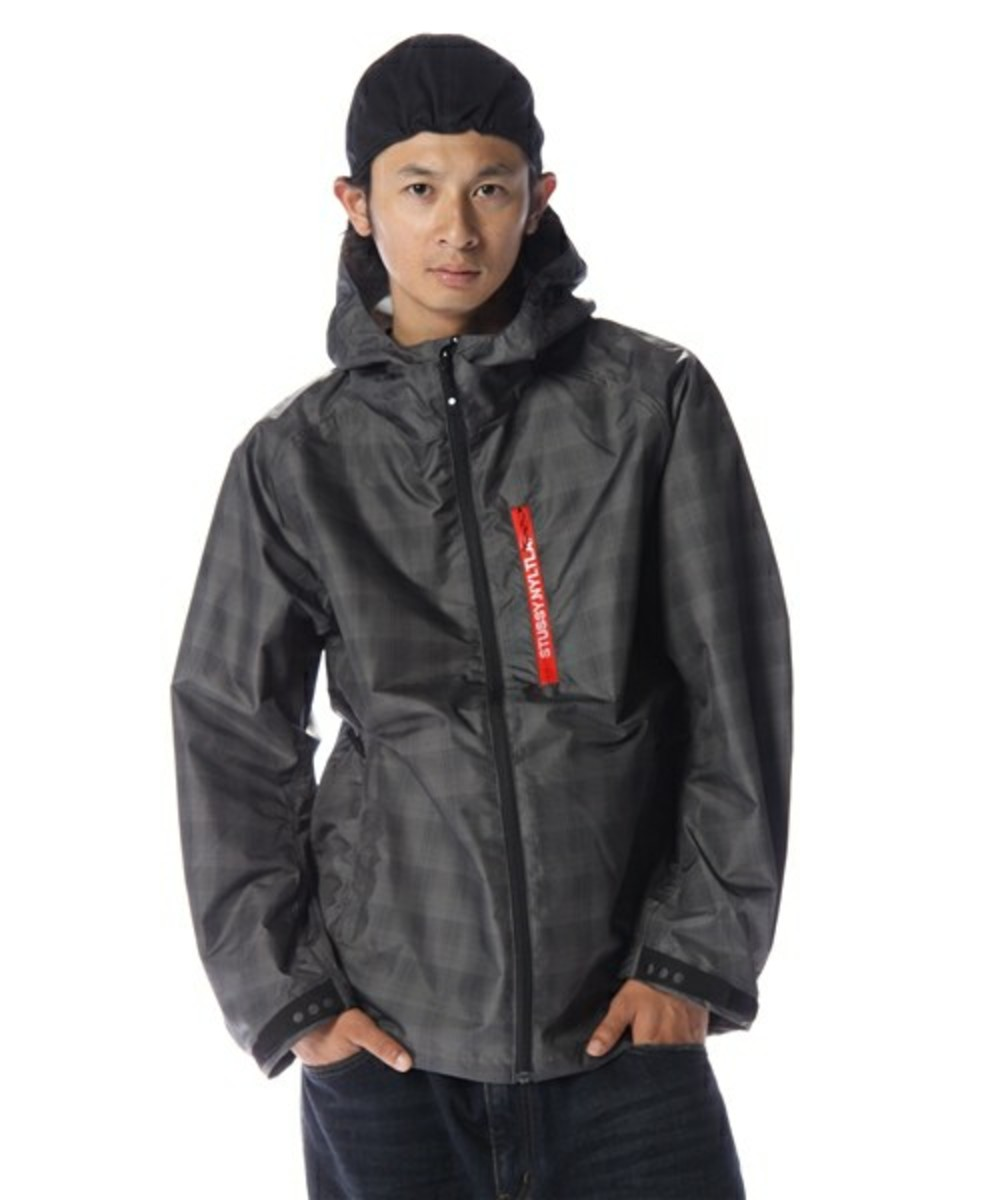 Grid Runner Hood Jacket Black