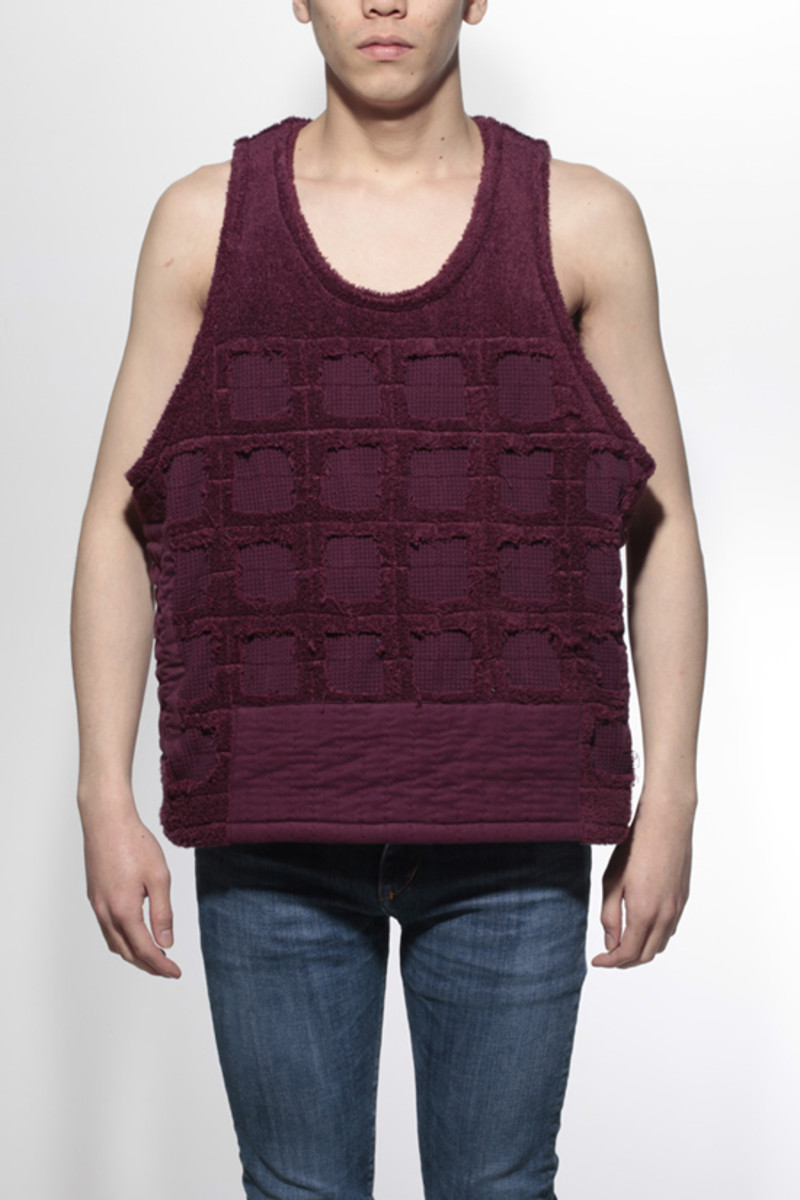 Duster Tank Top Wine