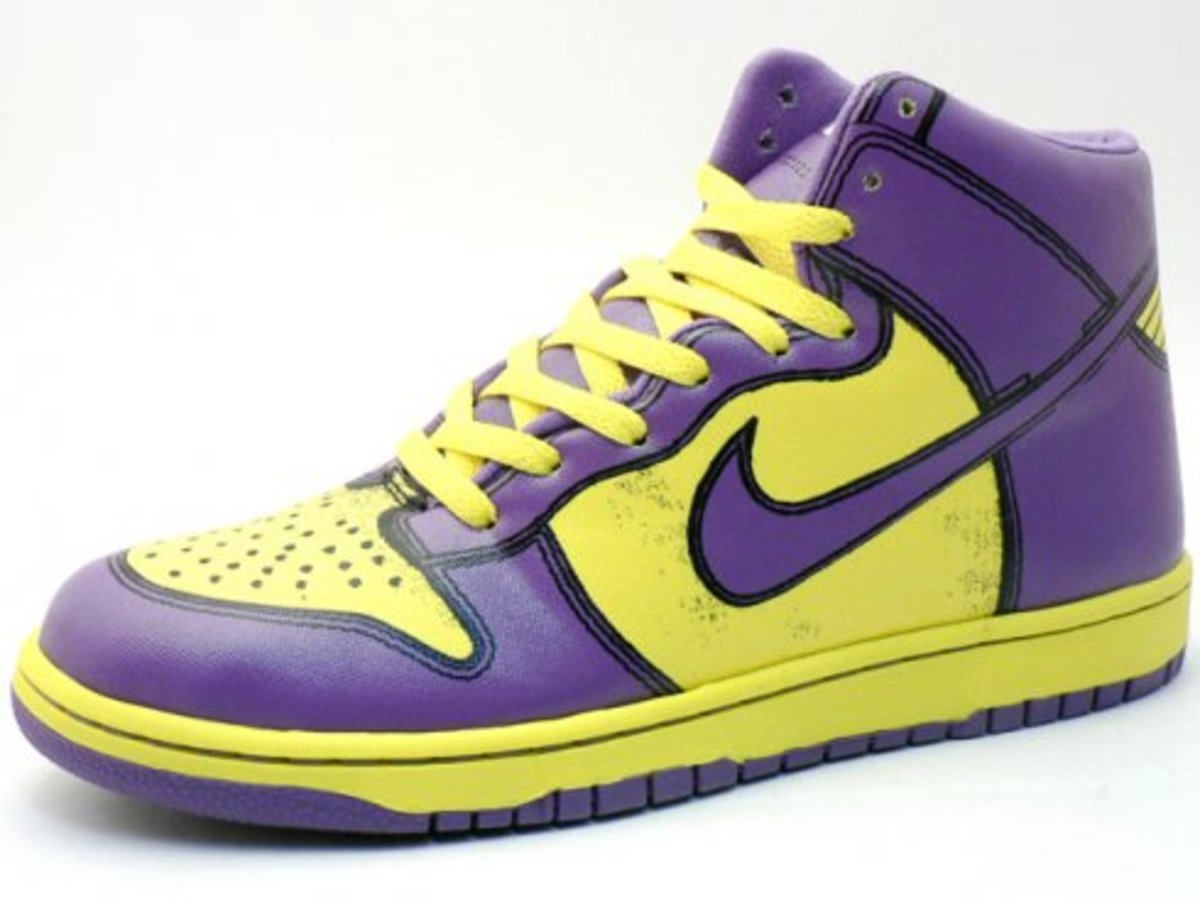 Nike x MEDICOM TOY - Dunk High 1 Piece Premium - BABEKUB CITY Edition