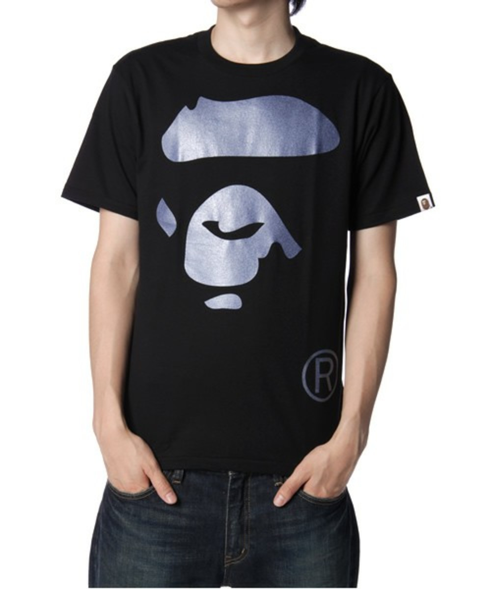 Face T-Shirt Blue Black