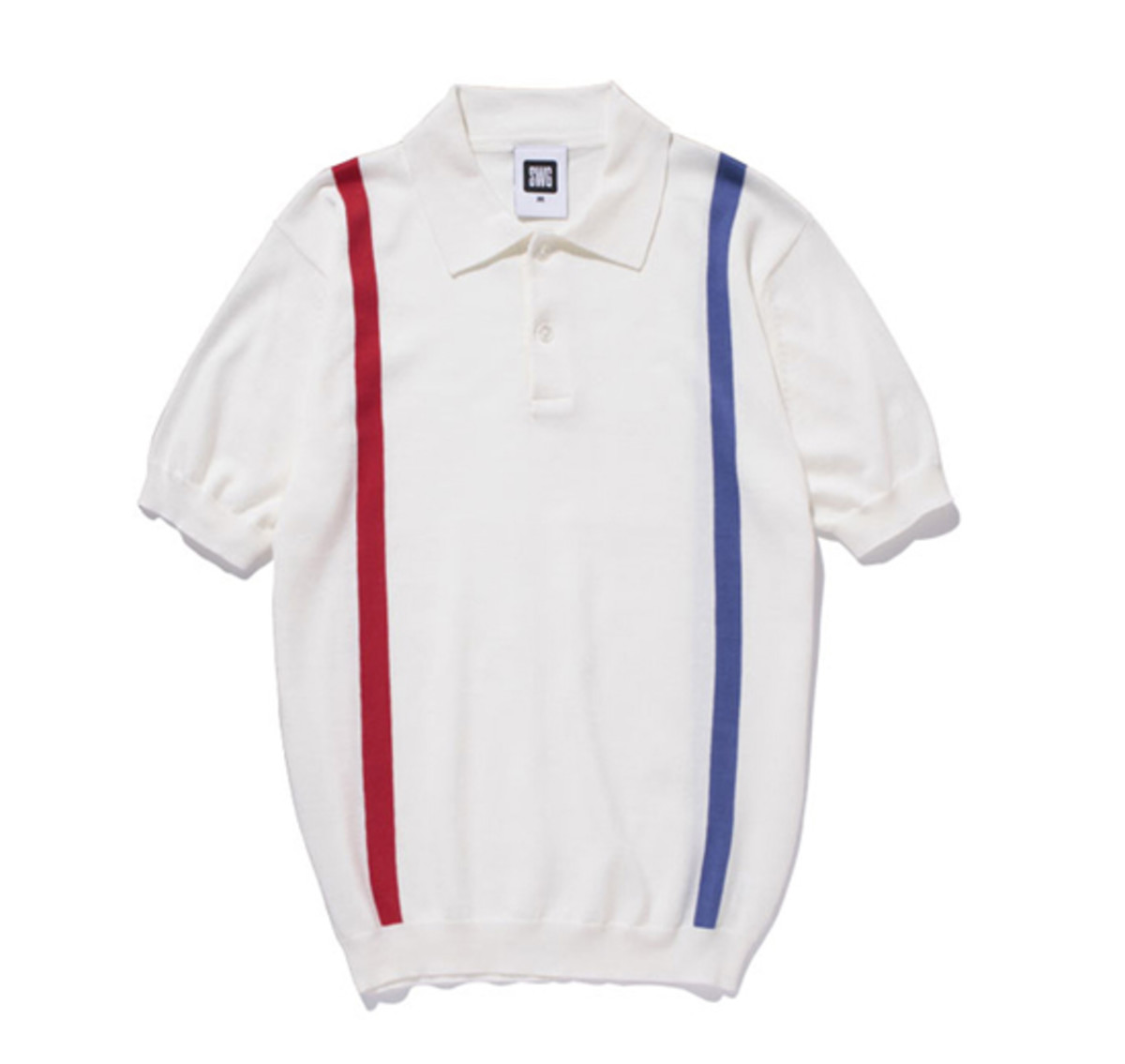 Knit Polo White