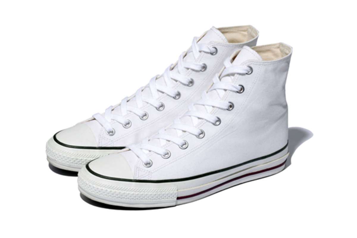 Canvas Hi-Cut Sneakers White