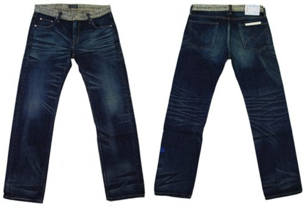 Stussy x NEIGHBORHOOD - Boneyards Washed Denim - 0