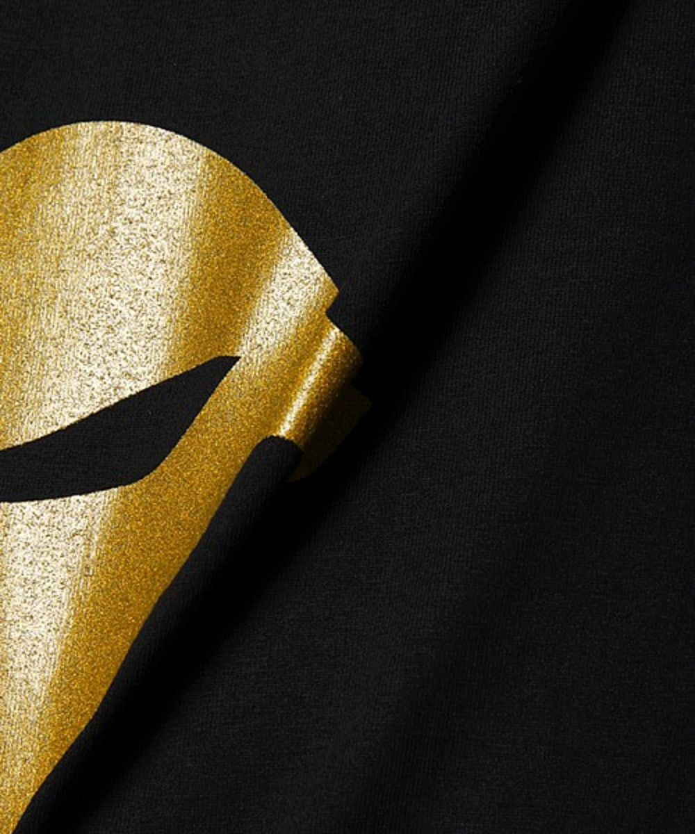 Face T-Shirt Gold Black 4