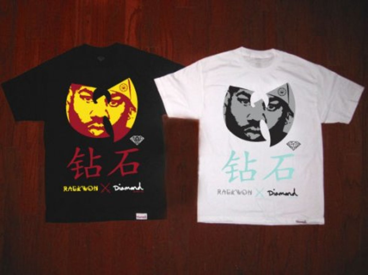 Diamond Supply Co. x Raekwon The Chef Limited Tee