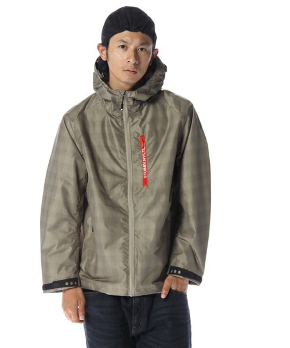 Grid Runner Hood Jacket Khaki