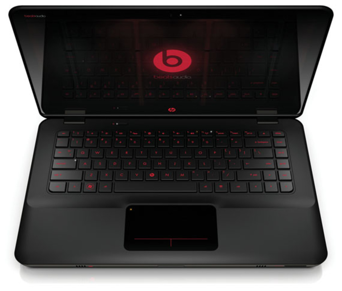 HP ENVY14 Beats Edition, front open