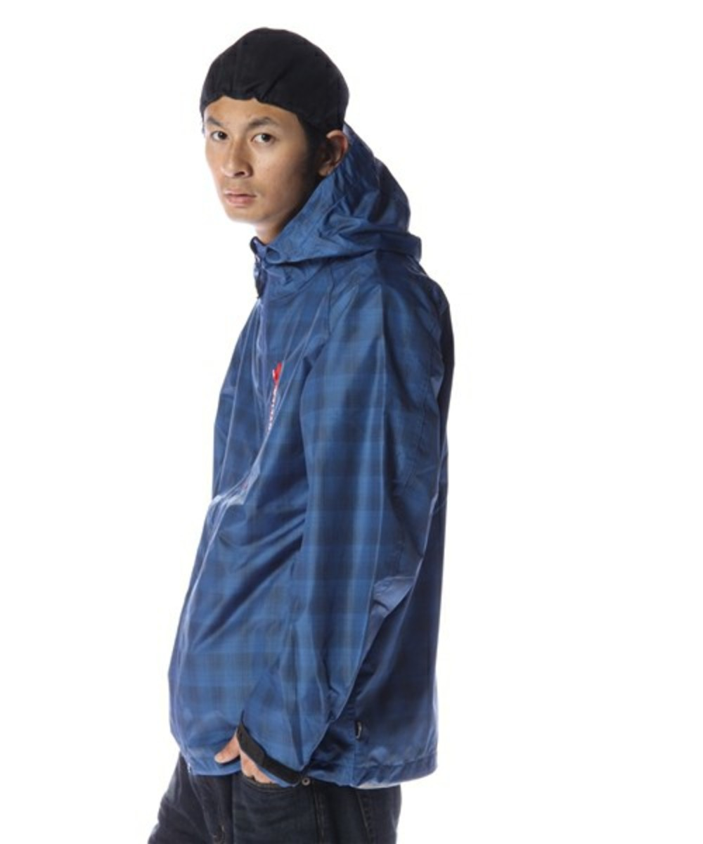 Grid Runner Hood Jacket Navy 2