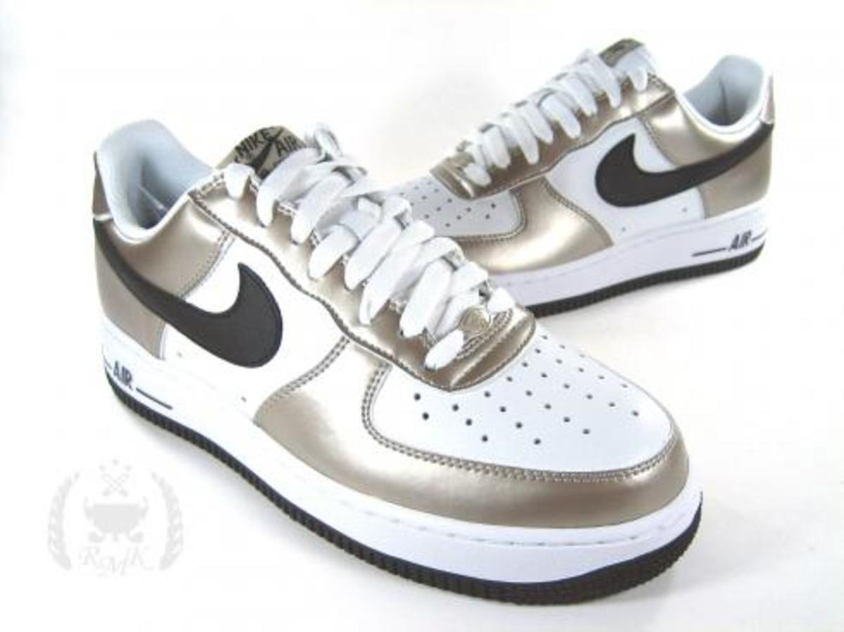 Nike  Air Force 1 Metallic Zinc - 1