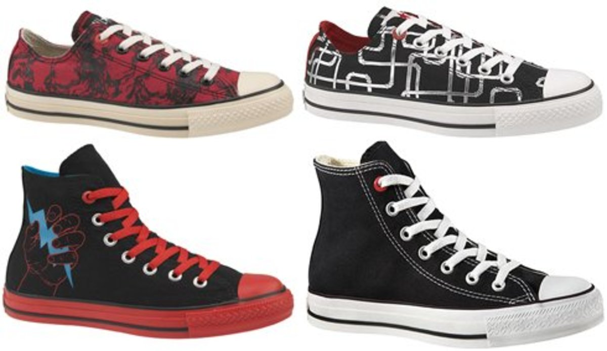 Converse 1HUND(RED) - Fall 2008 Collection