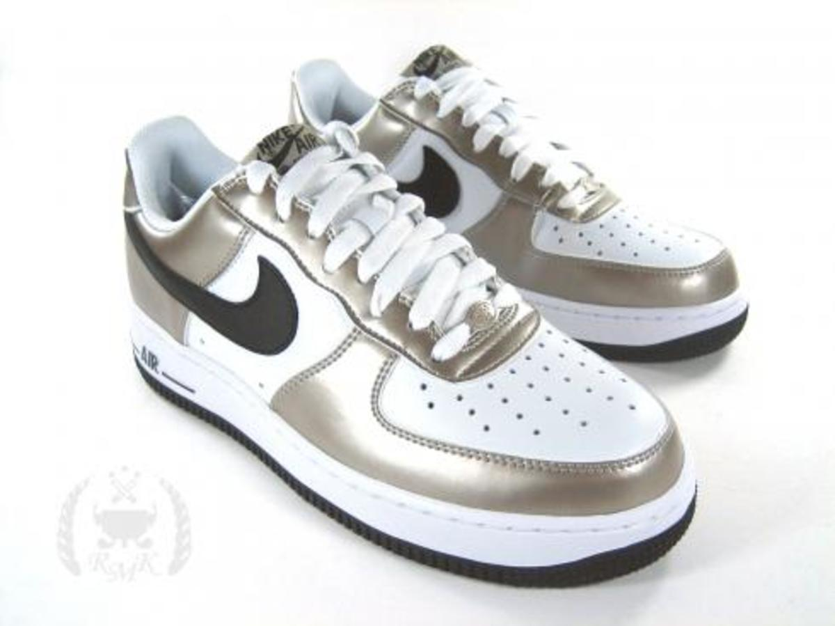 Nike  Air Force 1 Metallic Zinc - 0