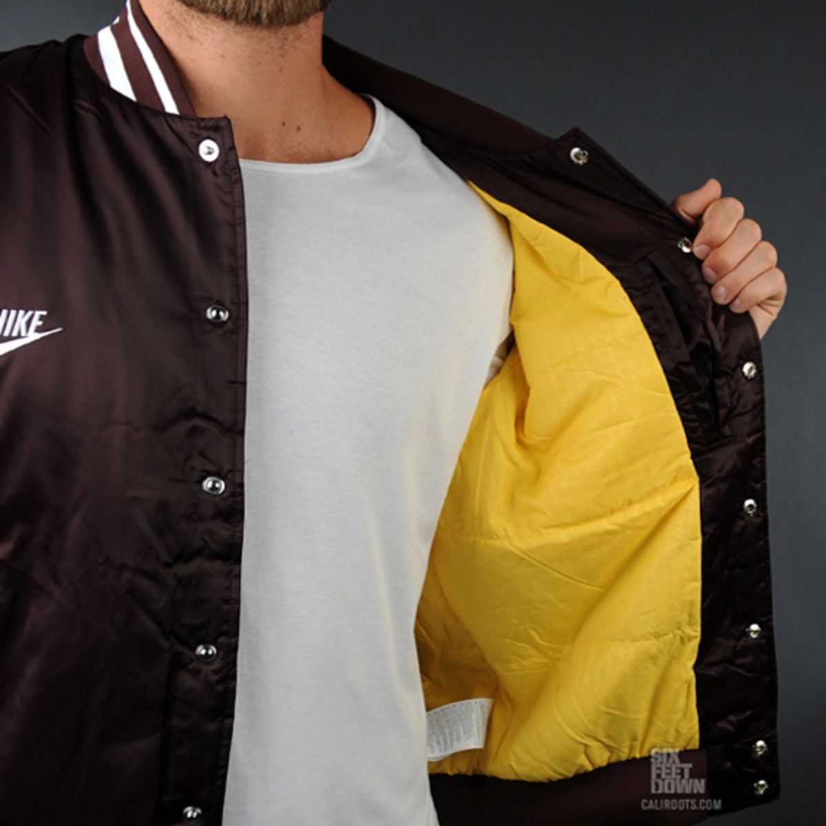 Nike Sportswear   Insulated Varsity Destroyer Jacket | Available Now