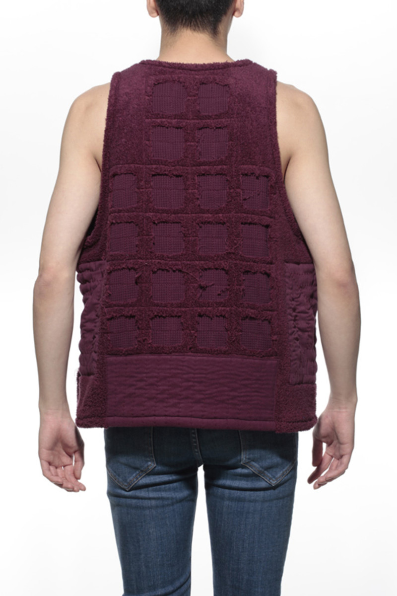 Duster Tank Top Wine 2
