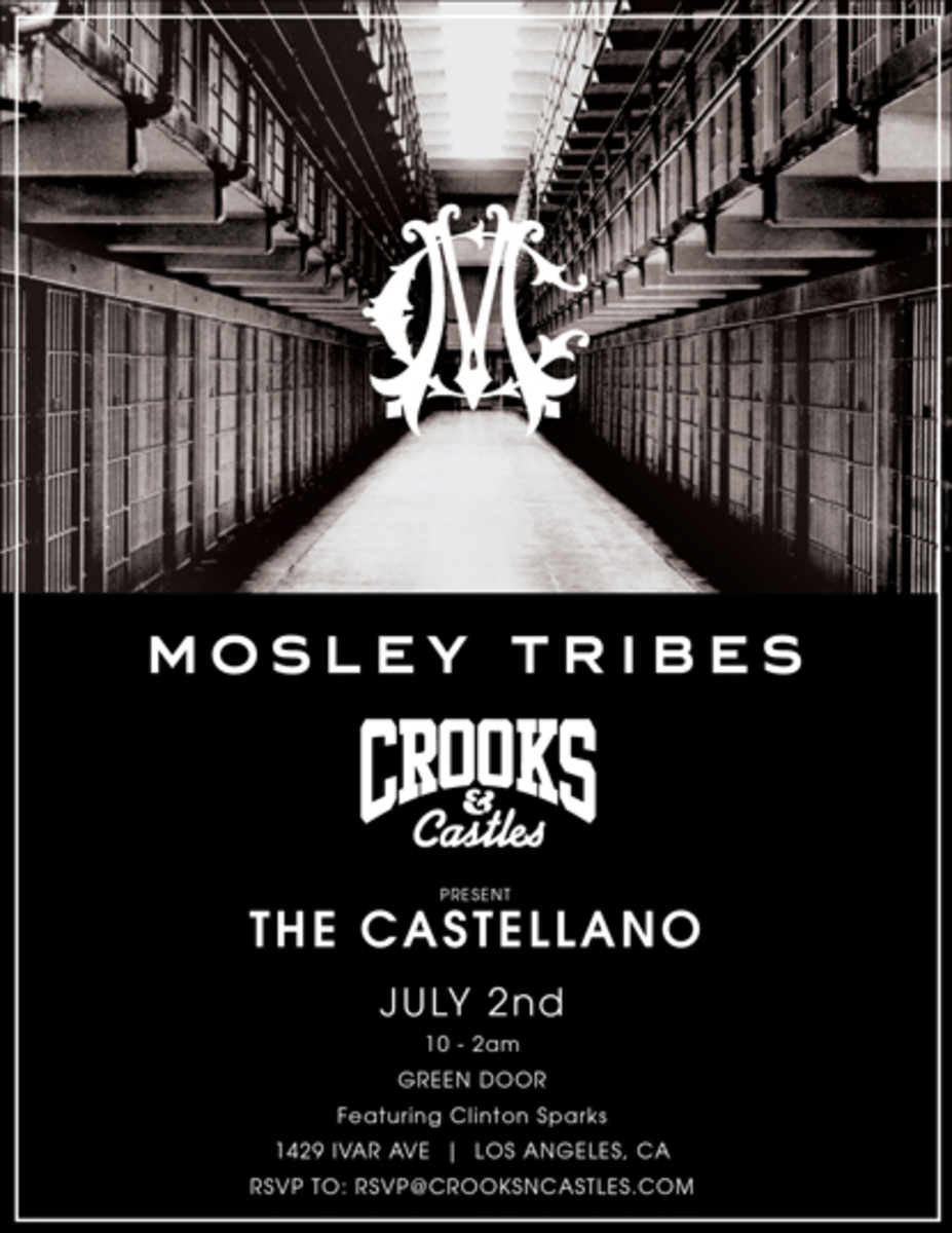 Crooks & Castles x Mosley Tribes - Castellano Event - 0