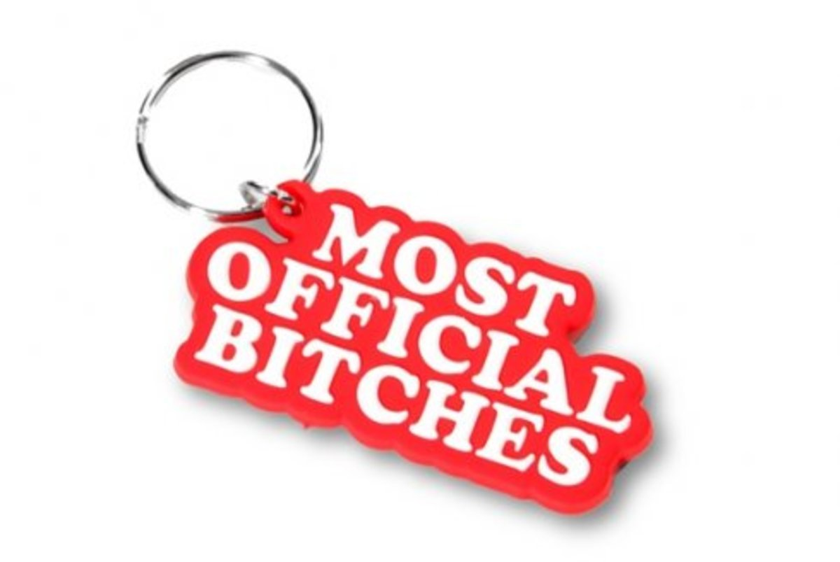 Married to the MOB - Most Official Keychain - 0
