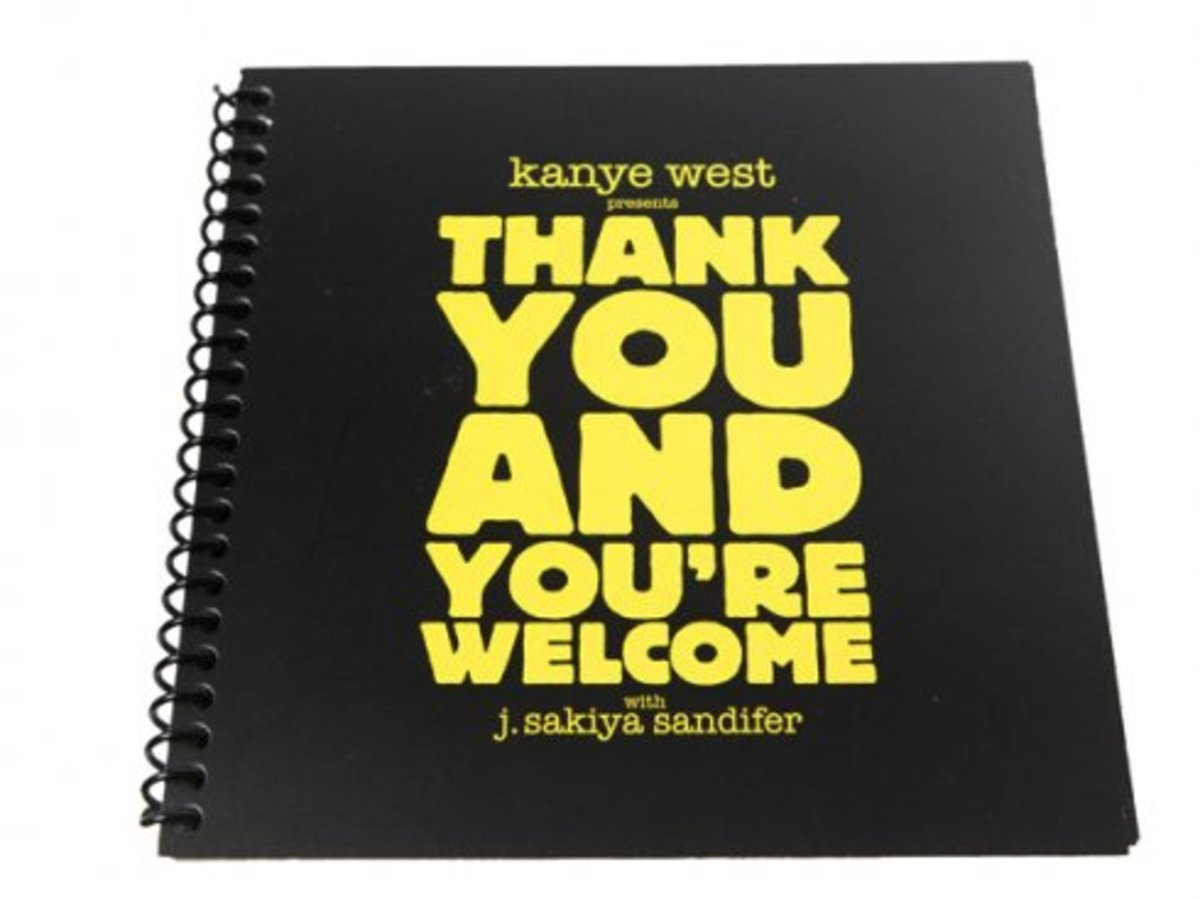 Kanye West - Thank You and You're Welcome