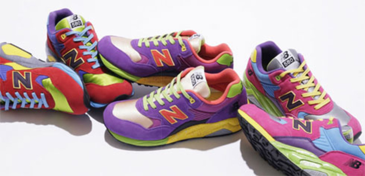 Triple Threat - NB x Stussy x HECTIC x UNDFTD MT 580 - 0