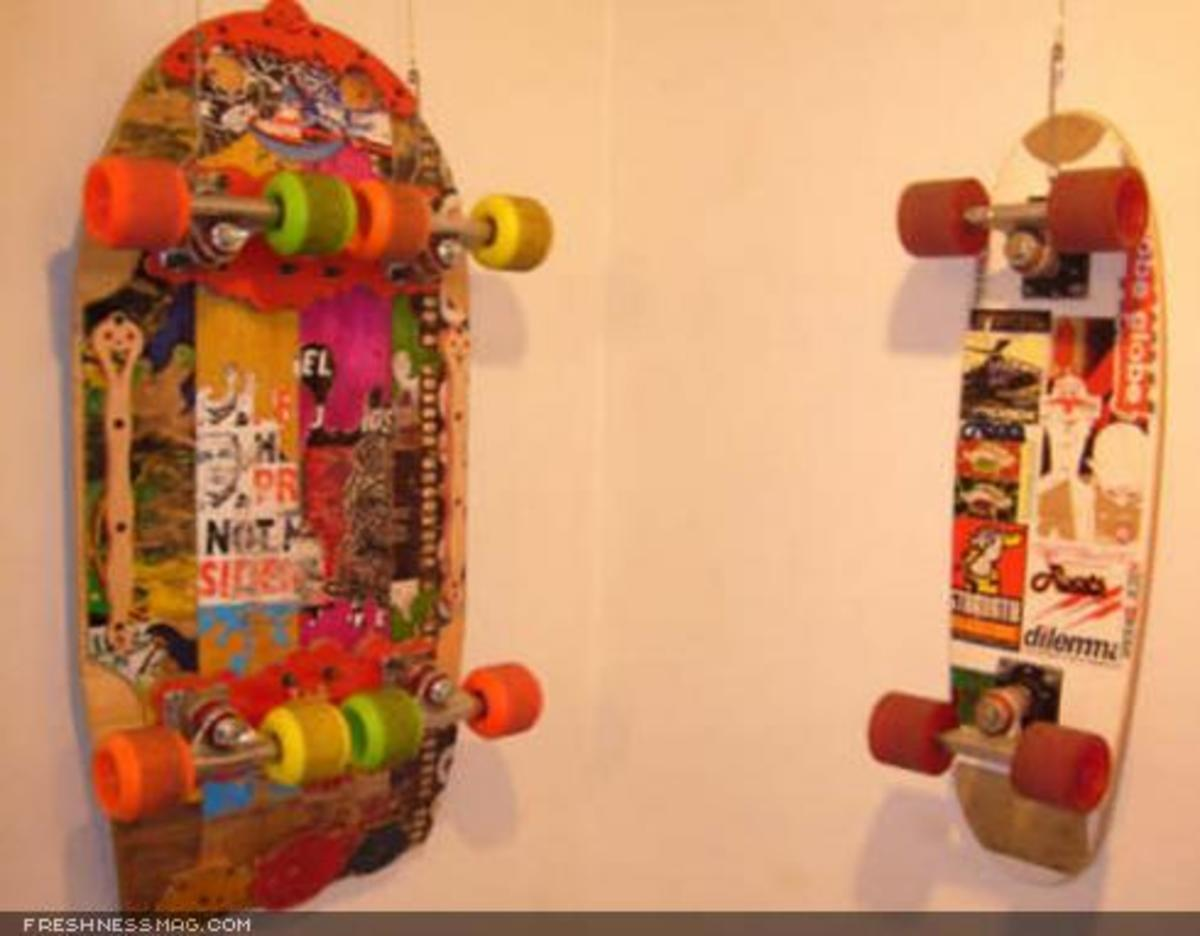 Hand Shaped Skateboards - Exhibition - 6