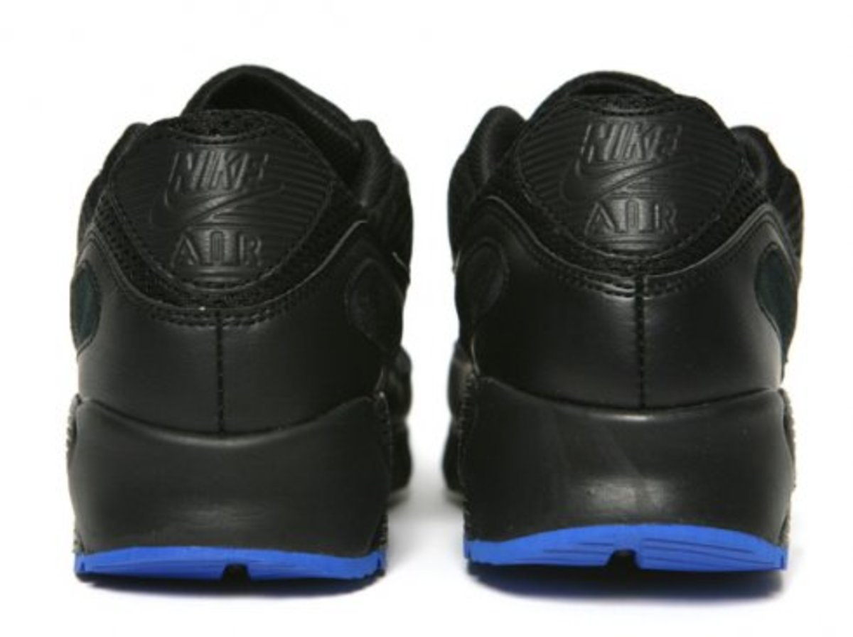 Nike  AM 90 Current - Black/Anthracite/Varsity Royal - 4