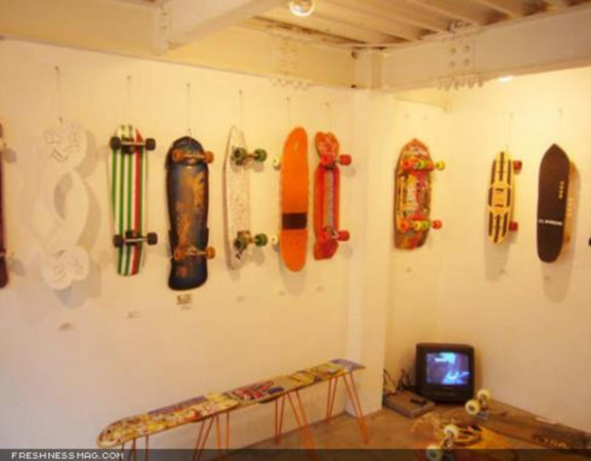 Hand Shaped Skateboards - Exhibition - 3