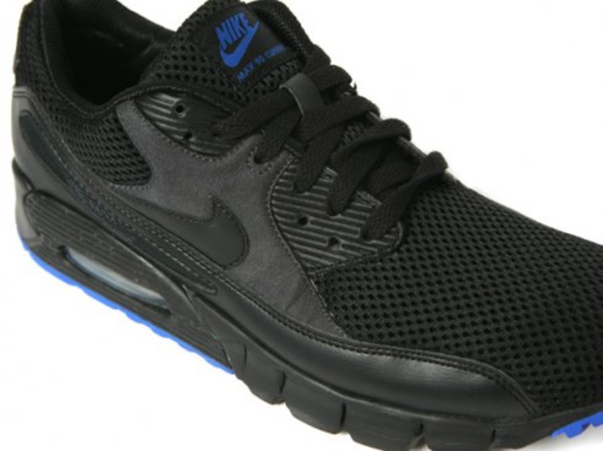 Nike  AM 90 Current - Black/Anthracite/Varsity Royal - 1