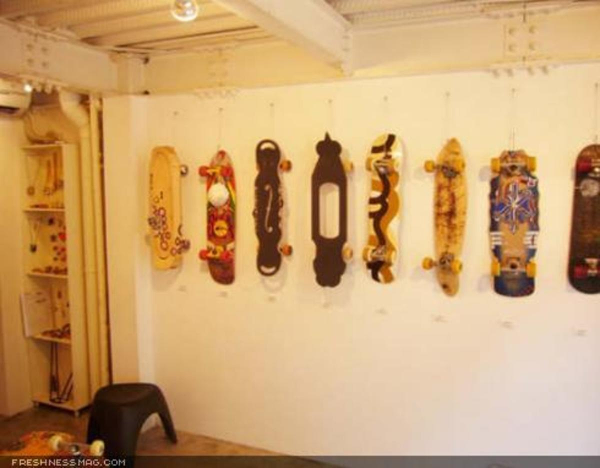 Hand Shaped Skateboards - Exhibition - 4