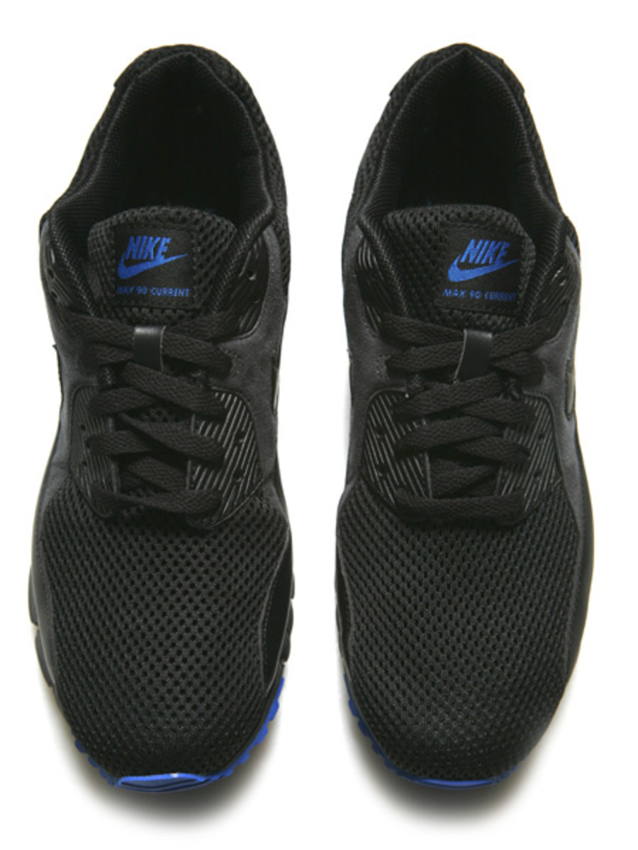 Nike  AM 90 Current - Black/Anthracite/Varsity Royal - 2