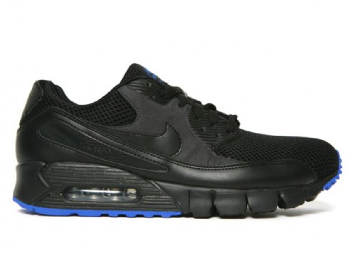 Nike  AM 90 Current - Black/Anthracite/Varsity Royal - 0