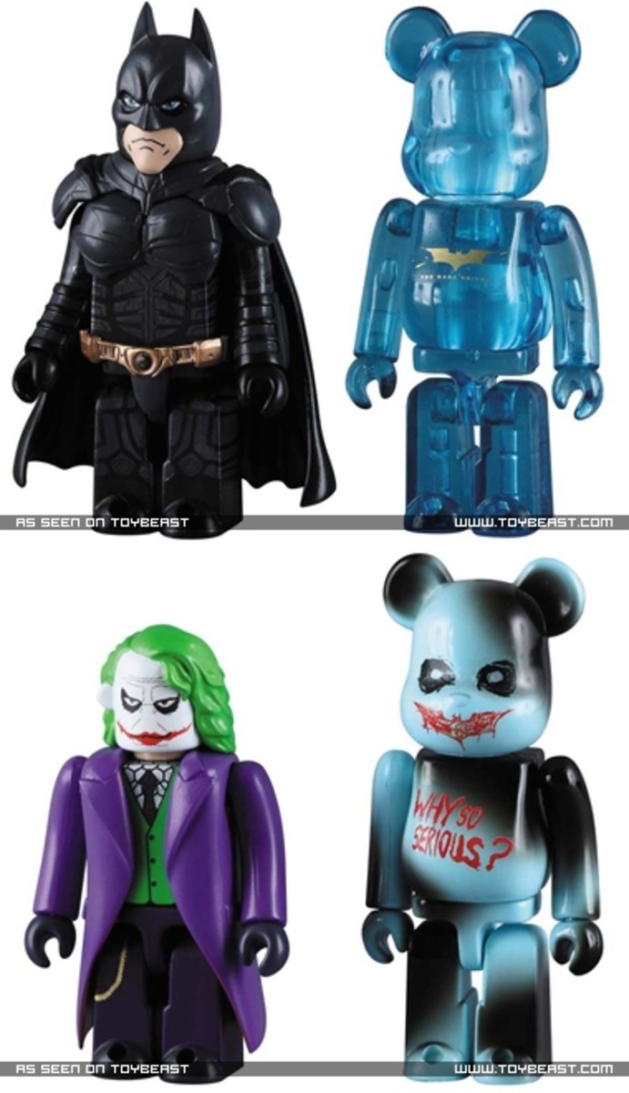 MEDICOM TOY x Batman - The Dark Knight BE@RBRICK - 0