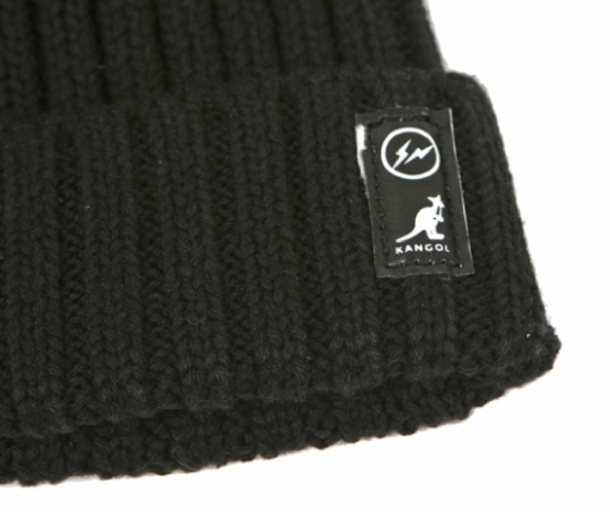 KANGOL x fragment design - Organic Cotton Knit Pull-On