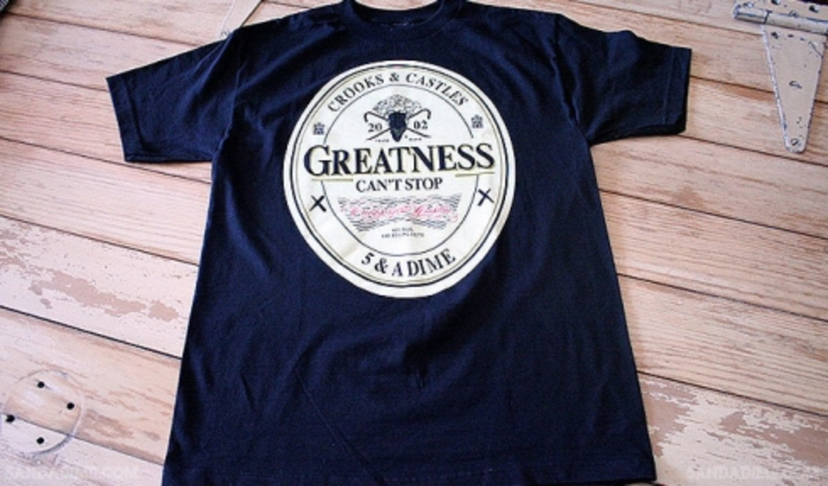 Crooks & Castles x 5 & A Dime - The Greatness - 1