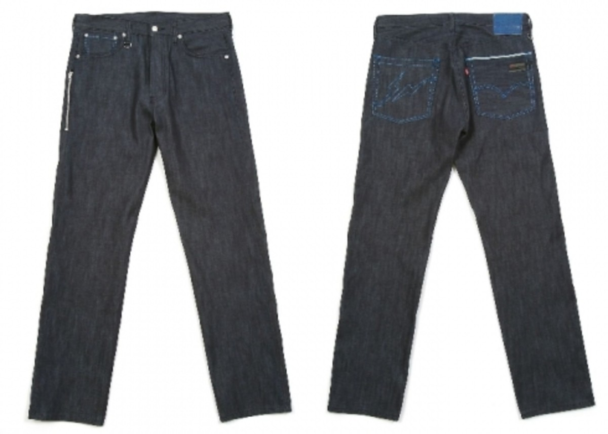 Levi's Fenom - Light Oz. Lame Stitch Jeans - 0