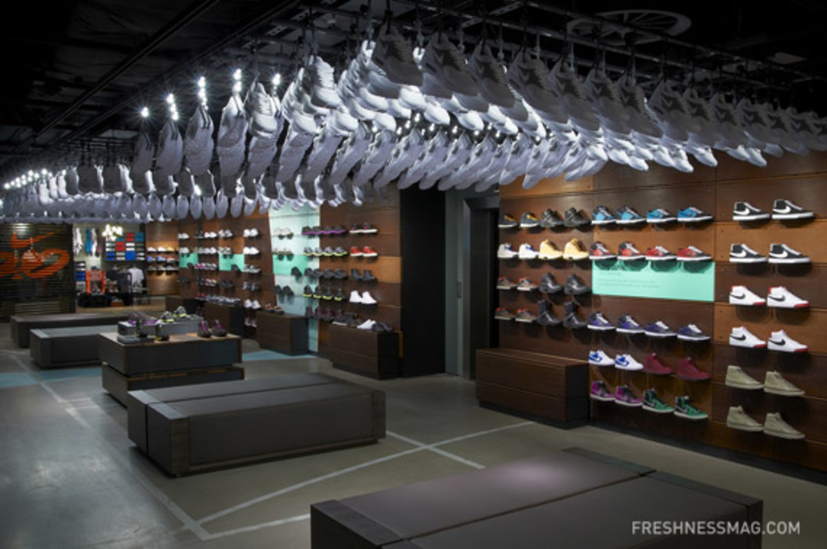 biggest nike store ever