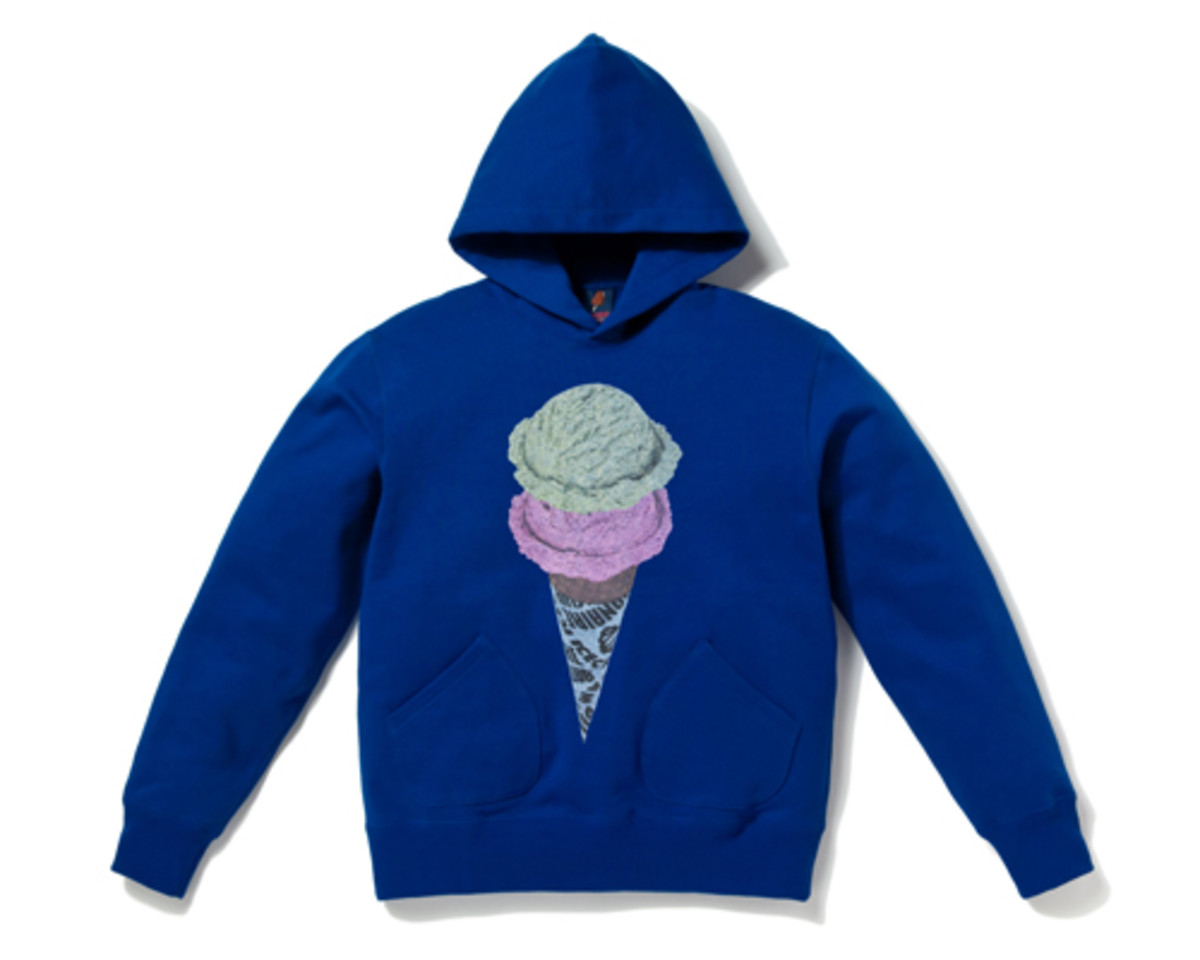 Double Scoop Photo Print Hoodie