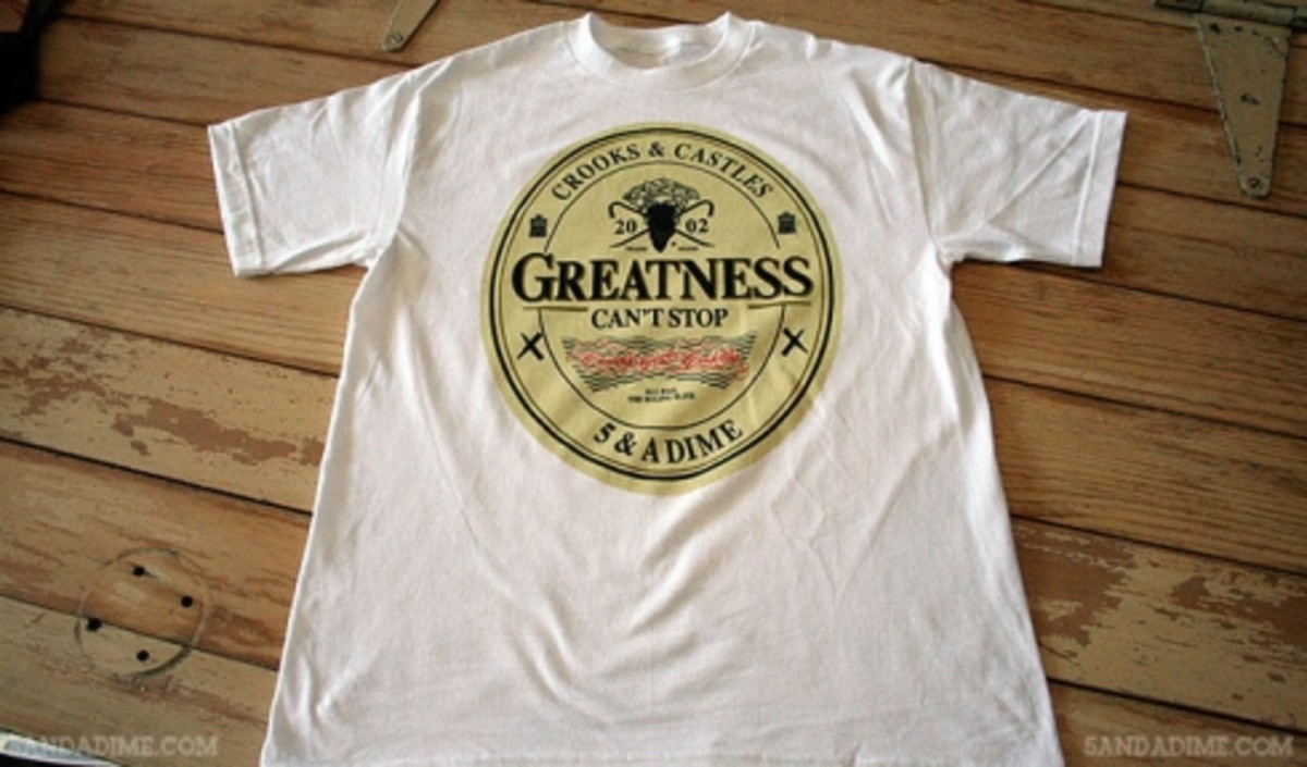 Crooks & Castles x 5 & A Dime - The Greatness - 0