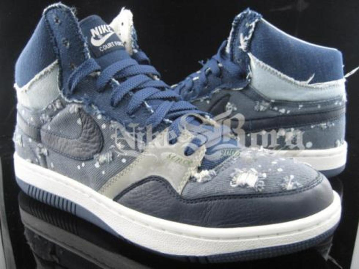 Nike  Denim Court Force High - 0