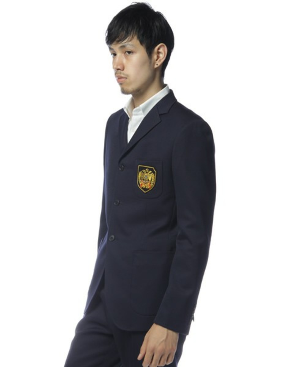 School Jacket Navy 2