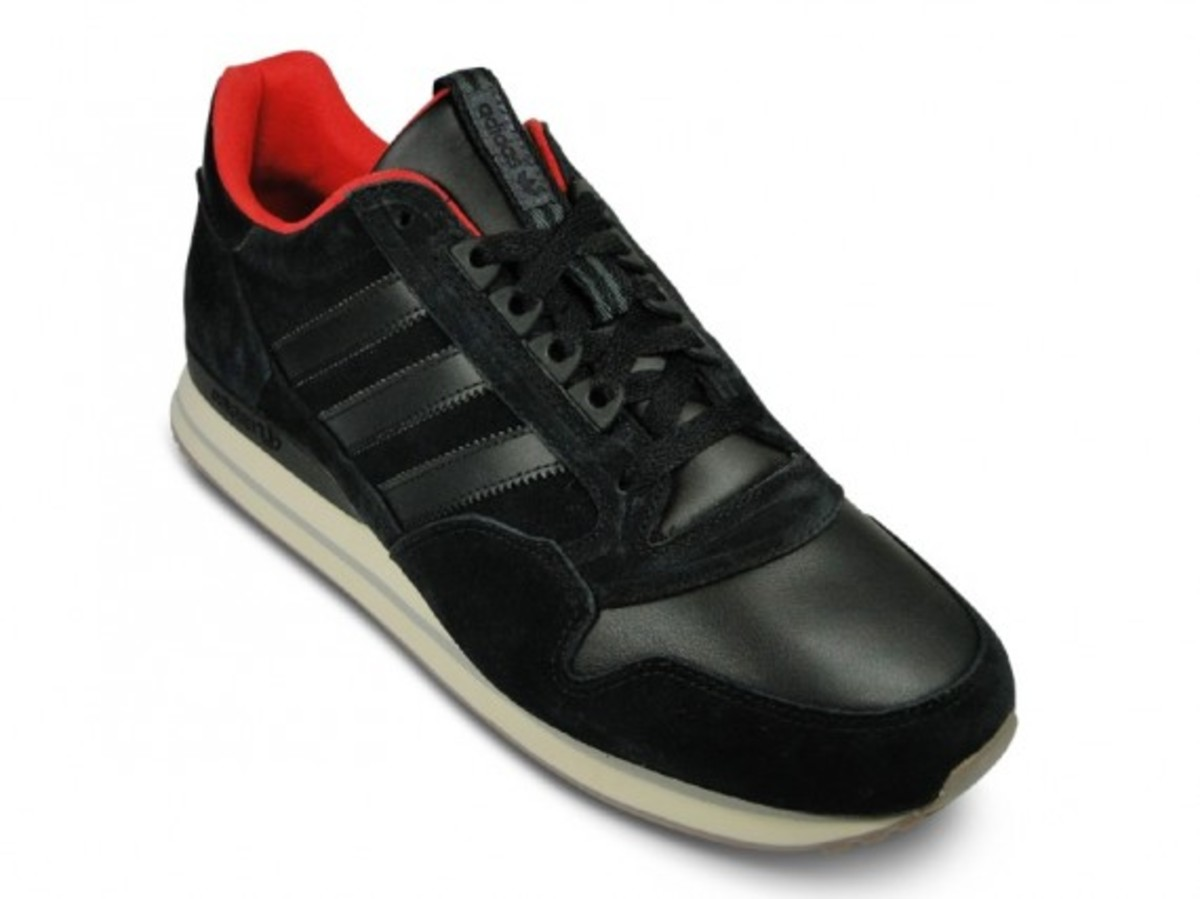 ZX500 Leather Black Off White