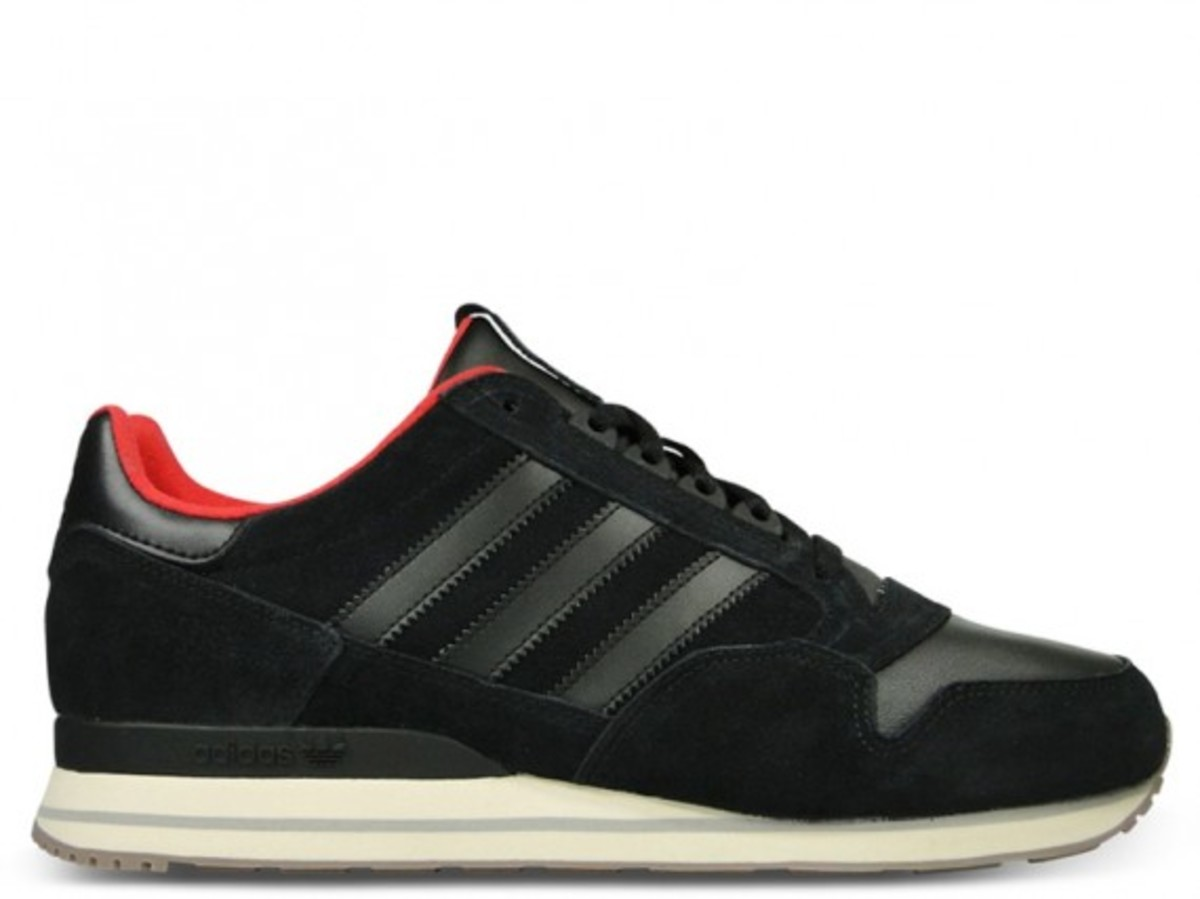 ZX500 Leather Black Off White 2