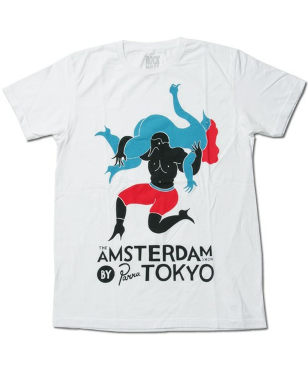 Amsterdam by Parra T-Shirt White