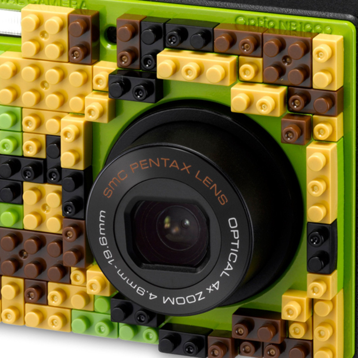 nanoblock x PENTAX Optio NB1000 Digital Camera | Available