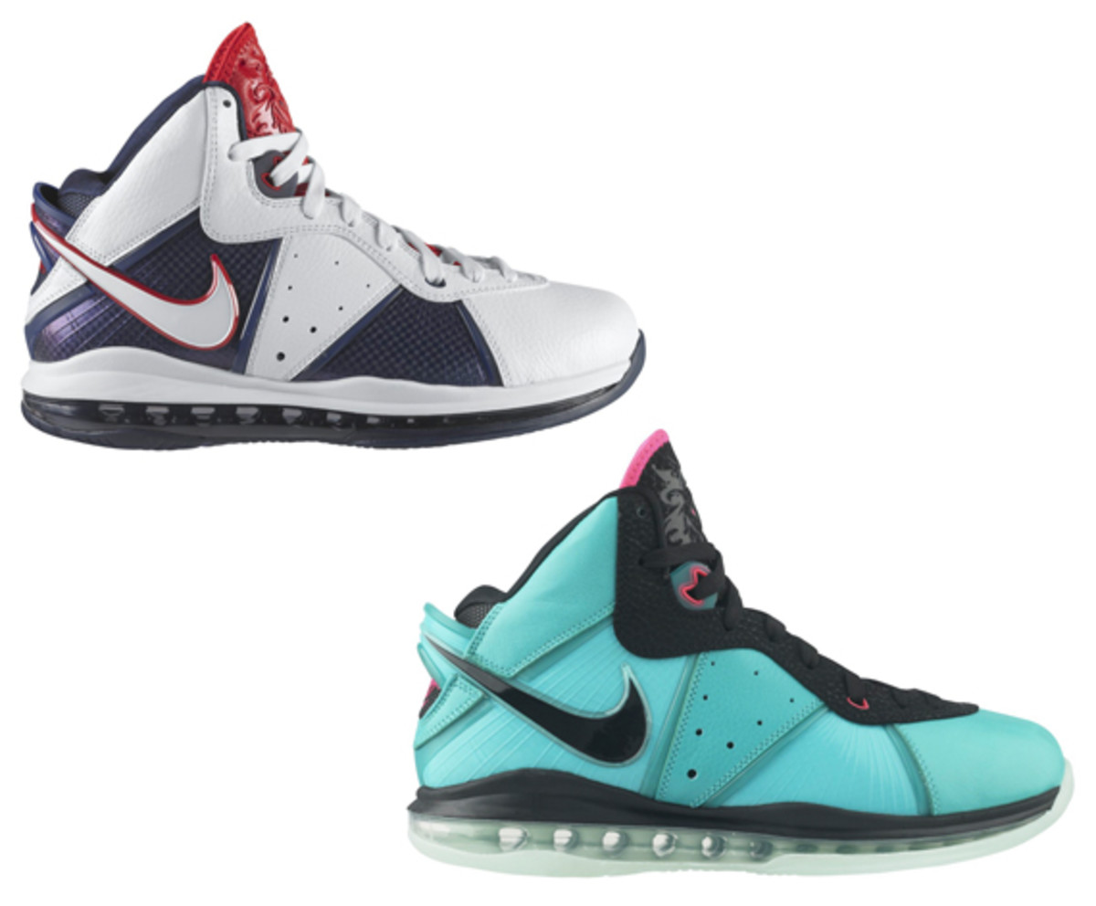low priced 44588 db2f2 Nike LeBron 8 – South Beach + Veterans Day | Release Info ...