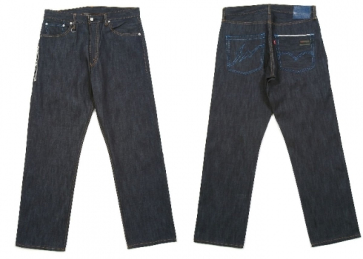 Levi's Fenom - Light Oz. Lame Stitch Jeans - 1