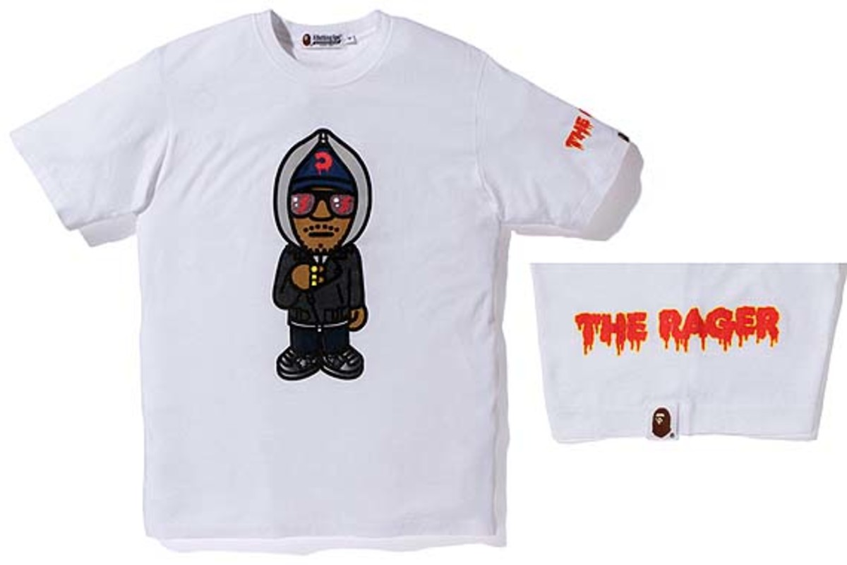 55640e3d BAPE - Limited Edition Kid Cudi Rager T-Shirt | Release Information ...