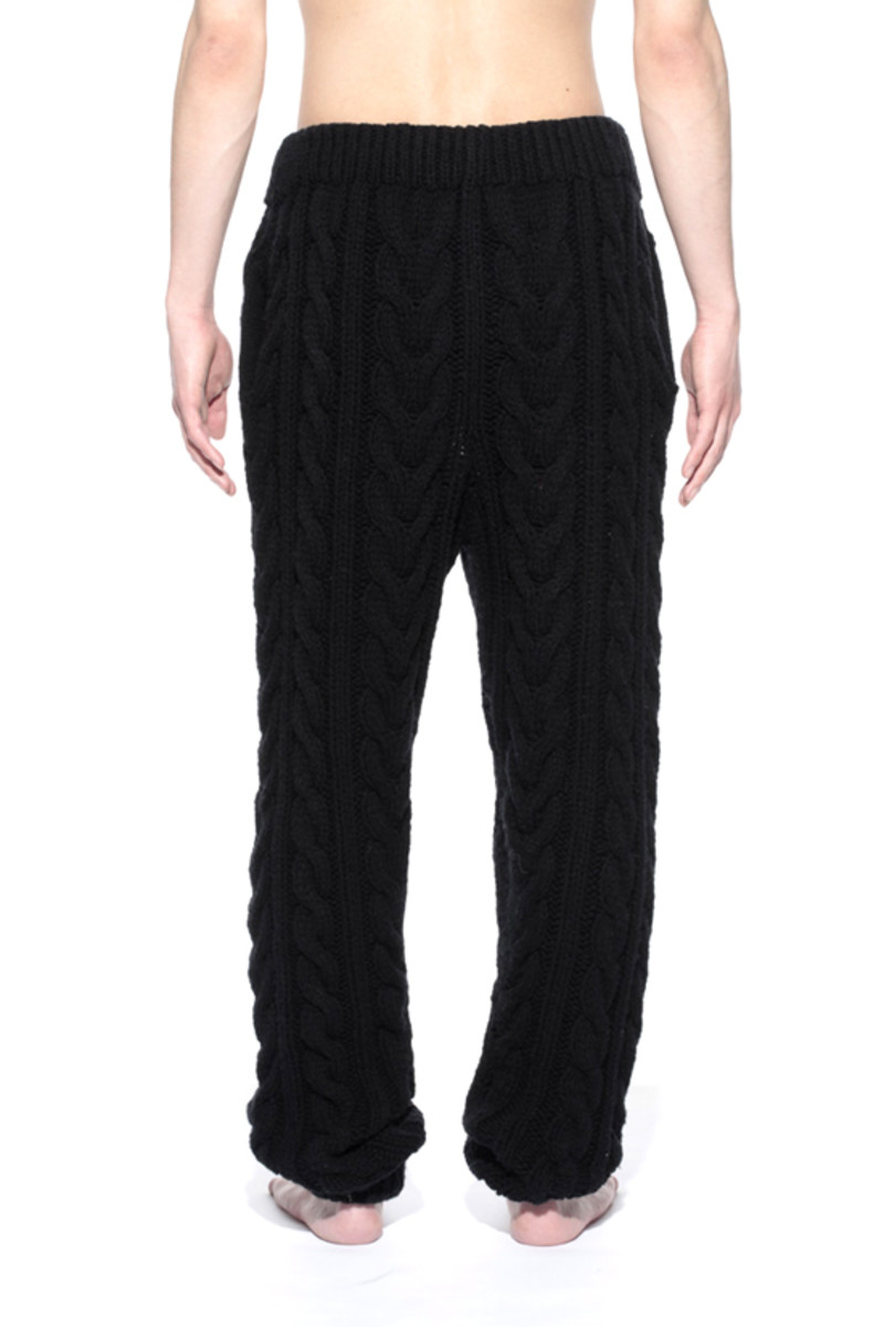 Knitted Pants Black 2