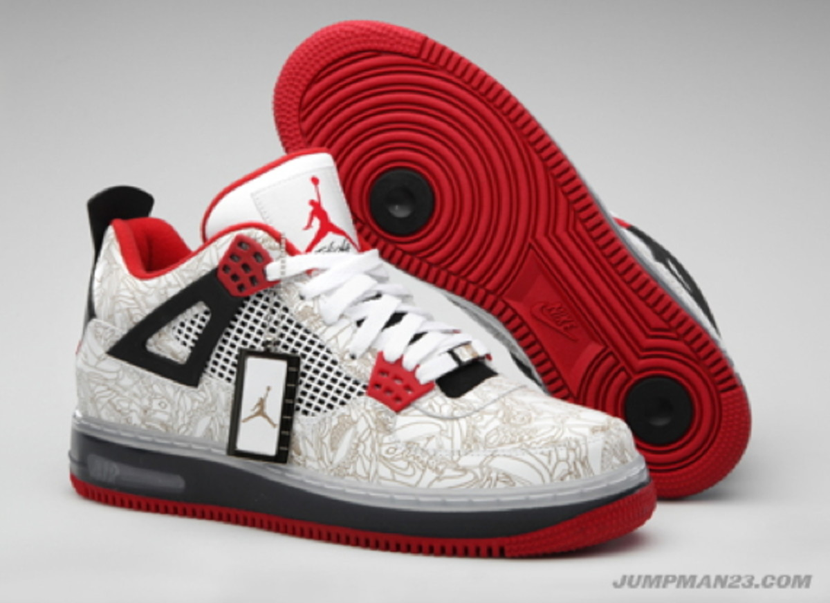 huge selection of cf2c2 53521 Air-Jordan-AJF4-Premier-White-Varsity-Red-Black-