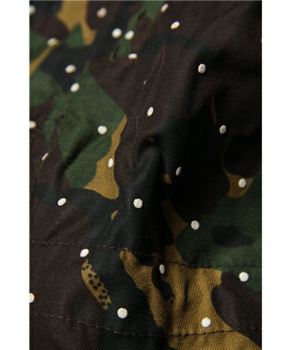 Dot Camo Army Oiled Jacket 9