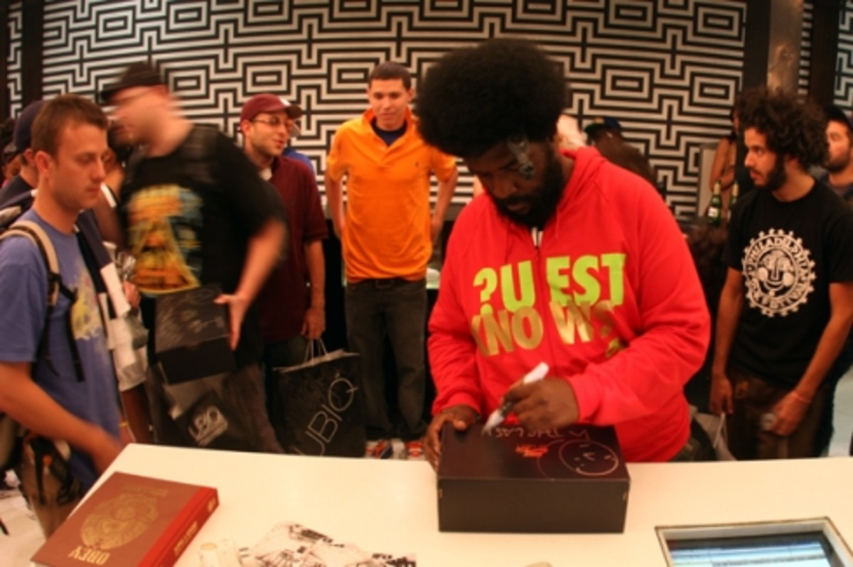Questlove Air Force 1 Release @ Ubiq Recap