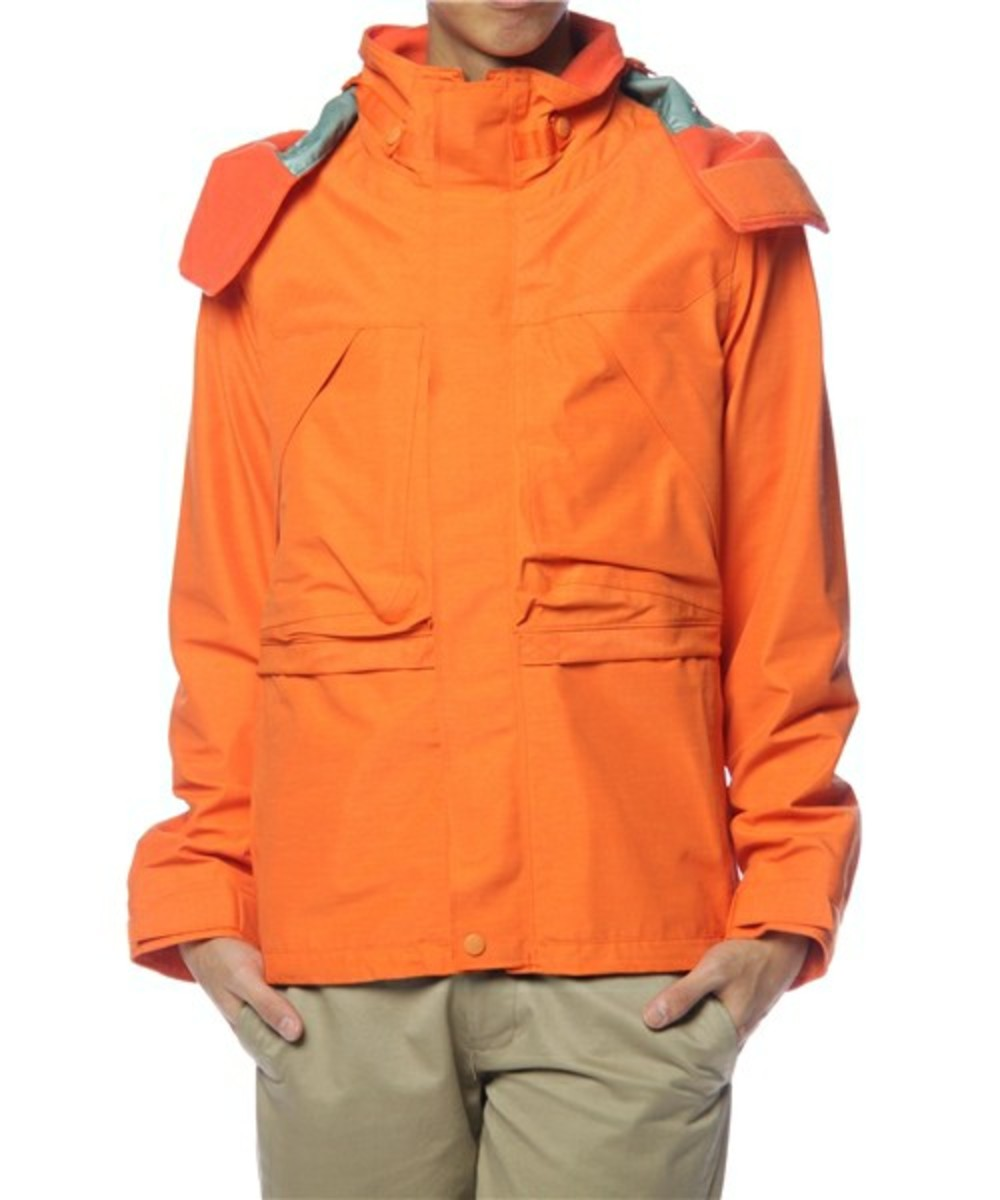Mountain Parka Orange